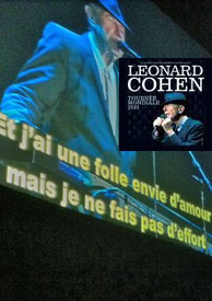 Subtitles for Leonard Cohen's songs for french shows